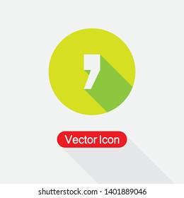 Quote Icon Vector Illustration Eps10