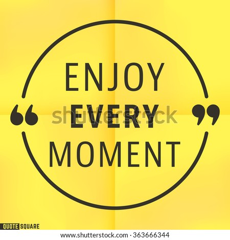 Game Design Doent Template | Quote Motivational Square Template Inspirational Quotes Stock Vector