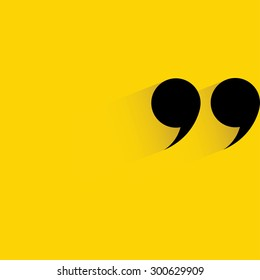 quote symbol, quotation mark symbol