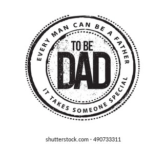 Quotes About Dad vector