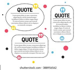 quotes design template