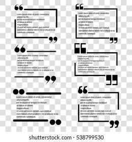 quotes set