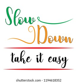 Take It Slow Stock Illustrations Images Vectors Shutterstock