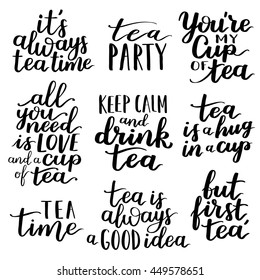 Tea Time Quotes Images, Stock Photos & Vectors | Shutterstock