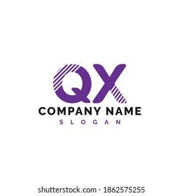 QX Letter Logo Design. QX letter logo Vector Illustration - Vector