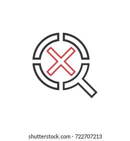 QX letter logo design vector