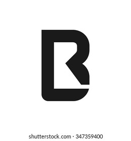 r and b logo vector.