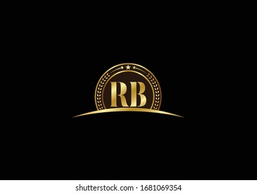 R B, RB Initial Letter Logo design vector template, Graphic Alphabet Symbol for Corporate Business Identity
