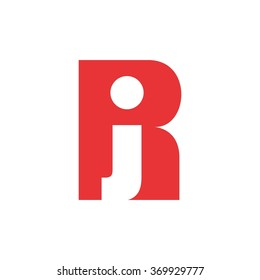 r and j logo vector.