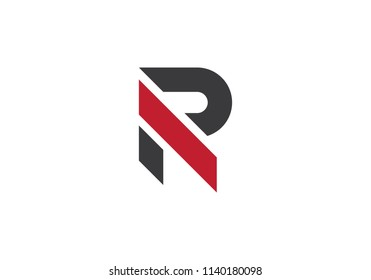 R Letter Logo Business Template Vector icon