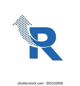 Letter r logo images stock photos vectors shutterstock r letter logo design thecheapjerseys Gallery
