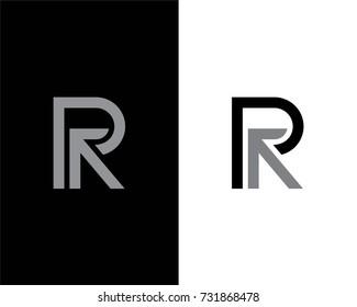 R Letter Logo Design Template Element