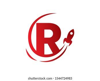 R Letter logo or symbol template design