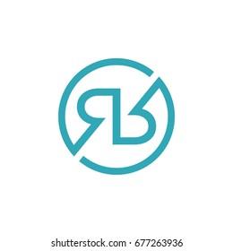 R R Letter Logo Template
