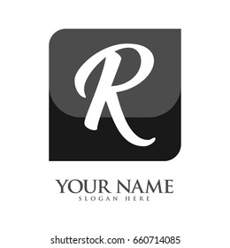 R Letter logo for your business