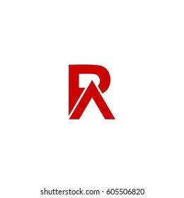 r letter vector logo. ra letter vector logo