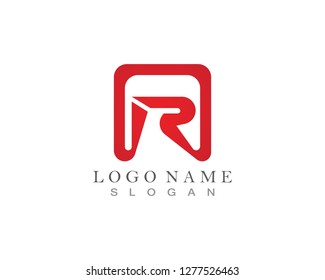 R Letters Logos Icons