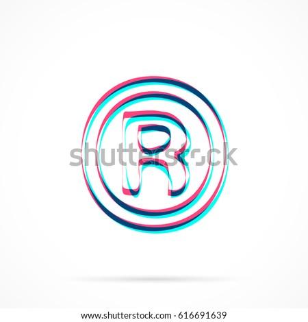 Registered Trademark Symbol Pink Topsimages
