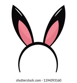 Rabbit ears headband