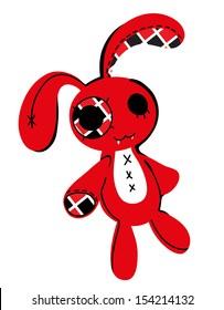 rabbit toy zombie