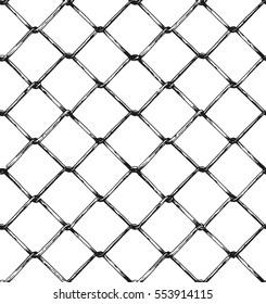rabitz grid metal fence pattern