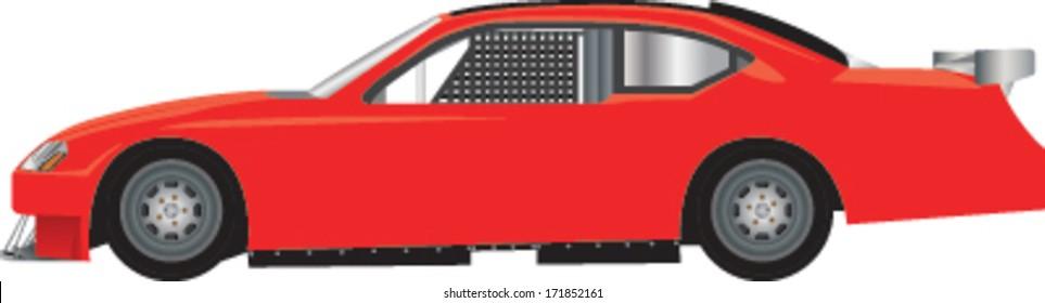 Race car vector illustration
