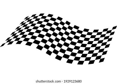 Race flag icon. Checkered flag. Race background. Racing flag vector illustration