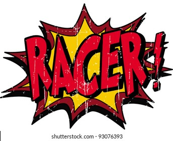 racer sign