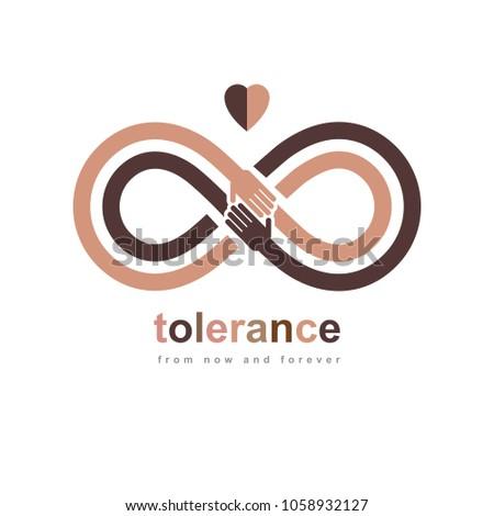 Racial Tolerance conceptual symbol