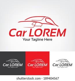 Racing Car Icon Inspiration.