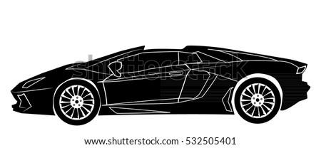 racing car Roadster