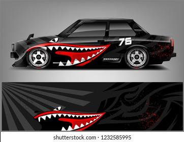 Racing Car Wrap Livery Design.