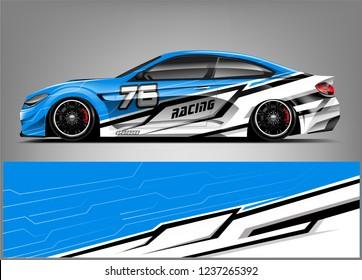 Racing Car Wrap Livery Design