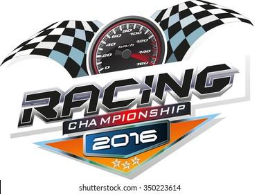 Racing Championship logo event