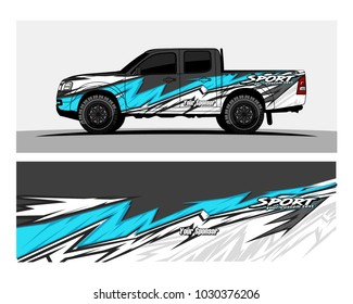 Racing graphic background vector for Truck,boat and vehicle branding. vinyl and wrap ready.