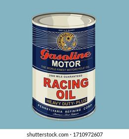 Racing oil motorcycle typography, tee shirt graphics, vectors