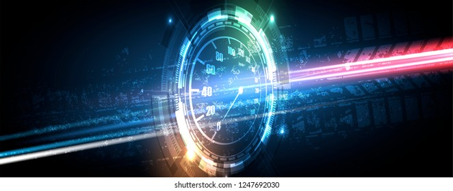 Racing speed background, vector illustration. Motion abstract