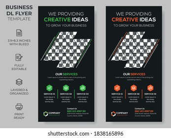 Rack Card Corporate DL Flyer Template