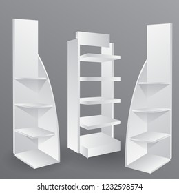 rack promotion  for brochures,  exhibition stand, mockup event