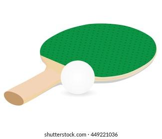 Racket vector design