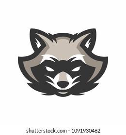 racoon sport logo