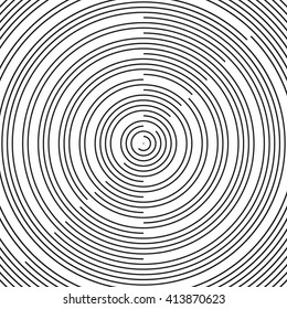 Radial pattern background