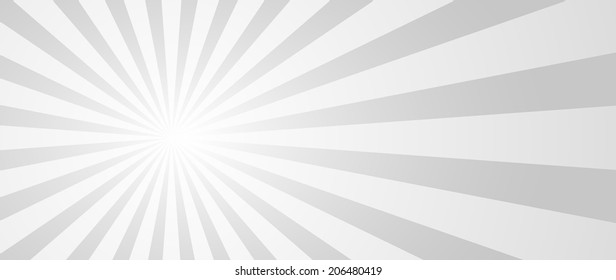 Radial rays background. Vector eps10.