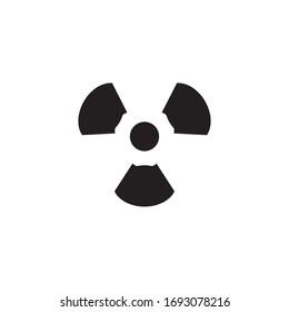 Radiation icon Vector Design Illustration template
