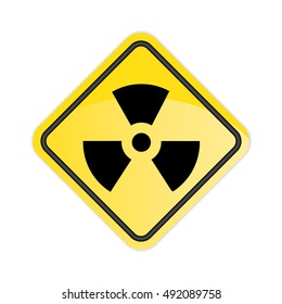Radiation Sign. Vector