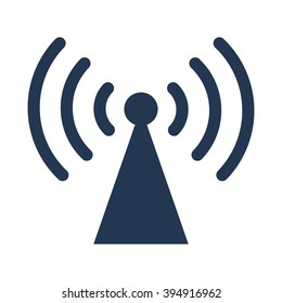 Radio antennae icon