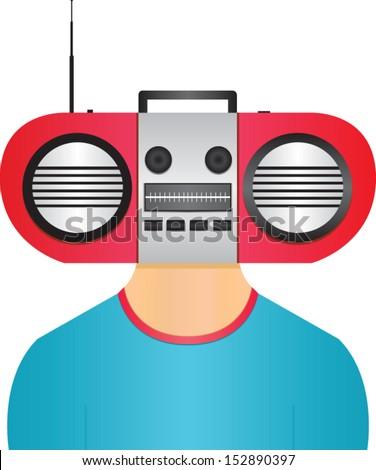 Radio Head Man