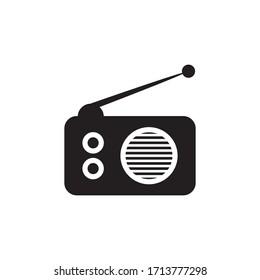 Radio Icon In Trendy  Design Vector Eps 10