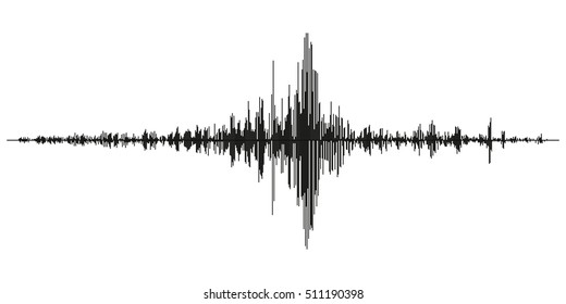 radio sound wave, the amplitude of the burst RF transmission of information, sound, vector