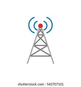 Radio Tower. Antenna signal